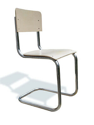 Stunning 1930s Mart Stam Thonet S43 Cantilever Chair, Early Example
