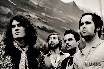 THE KILLERS ~ MOUNTAIN 24x36 MUSIC POSTER Brandon Flowers NEW/ROLLED!
