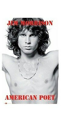 THE DOORS ~ JIM MORRISON NECKLACE POET 24x36 MUSIC POSTER NEW/ROLLED!