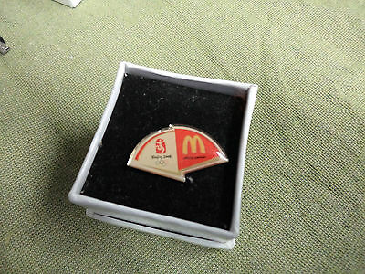 #DD.  BOXED  BEIJING 2008  OLYMPIC PIN - McDONALDS