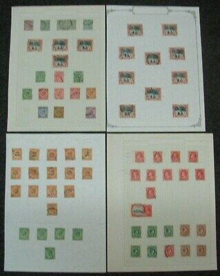 JAMAICA SMALL LOT ON PAGES (x4) (ID:R43206)