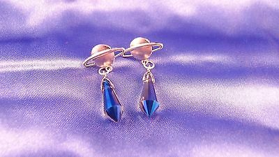 Sailor Saturn Sailor Moon Cosplay Earrings - For Pierced Ears