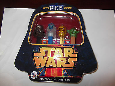 Star Wars PEZ Limited Edition Collectible Tin  SEALED