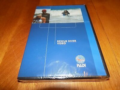 PADI RESCUE DIVER Training Materials Scuba Divers Diving Emergency DVD NEW