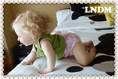"""SOLD OUT! Reborn KIT """"Amelia"""" Crawler Toddler (10 mo. old) with/Doe suede Body"""