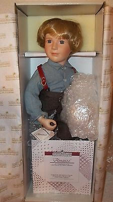 "Ashton Drake ""Little House On The Prairie"" Porcelain Doll ALMANZO Wilder"