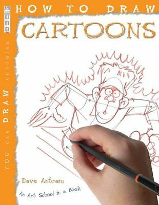 How to Draw Cartoons, David Antram Paperback Book The Cheap Fast Free Post