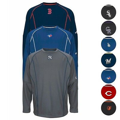 MLB Authentic On-field Practice Pullover Collection by MAJESTIC - Men's