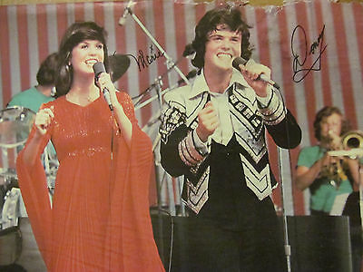 Donny and Marie Osmond, Osmonds Brothers, Full Page Vintage Pinup