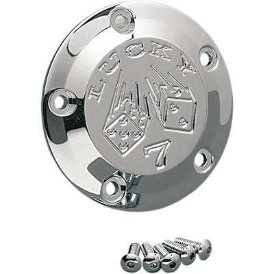 Joker Machine 5-Hole Points Cover Lucky 7 Chrome Harley FXSBSE CVO Breakout 2013