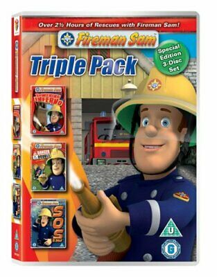Fireman Sam - CGI triple pack Towering Inferno / Danger By The Do... - DVD  WQVG