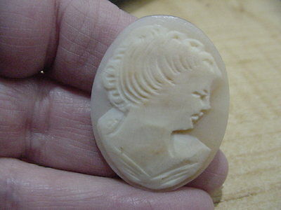 Victorian Hand Carved Shell Cameo
