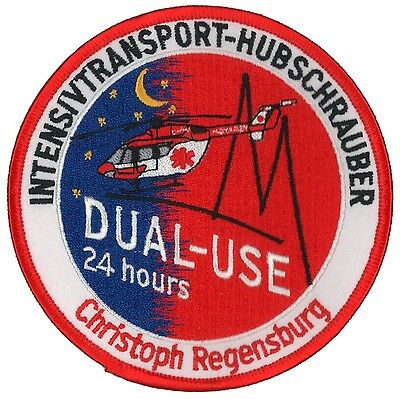 Aufnäher Patch RTH ITH Christoph Regensburg Dual-Use Luftrettung