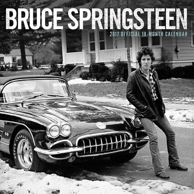 Bruce Springsteen - Official 2017 Square Calendar (NEW WALL CALENDAR)