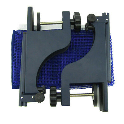 Table Tennis Net with Post Clamp Stand Set Ping Pong Replacement