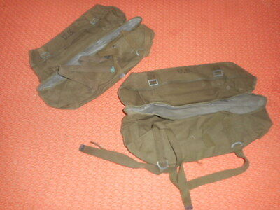 U.s.army : X 2 Pac ,field,cargo, M - 1945 With Waterproof Liner  Militaria