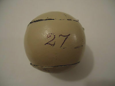 V.Nice! Replica '27' Feathery Golf Ball with Hide Cover!