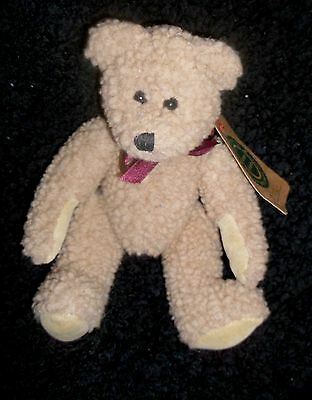 "BOYDS BEARS PLUSH JOINTED ""BRUCE"" With Tags"