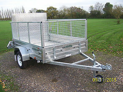 Paxton Trailer 8 x 5 caged & ramped **WINTER SALE**