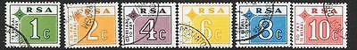 South Africa Sgd75/80 1972 Postage Dues Fine Used