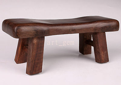 Classic Chic Wood Retro Footrest CollectableHandwork