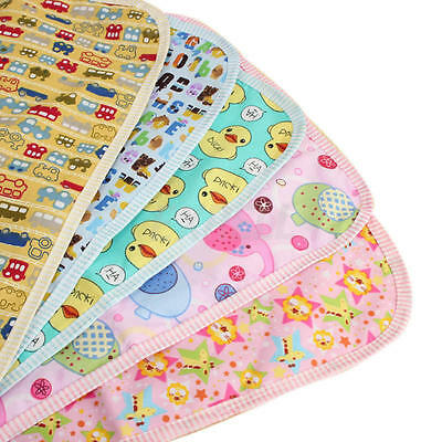 Cartoon Baby Kids Bedding Nappy Diapering Urine Mat Changing Pad Waterproof