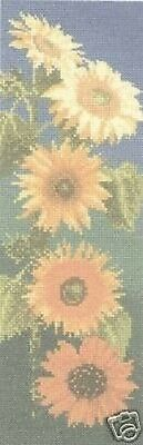 Tapestry Canvas Sunflower Panel Heritage Stitchcraft Floral