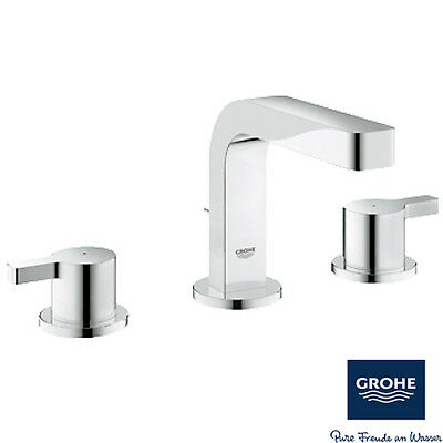 Grohe Lineare Chrome 3 Hole Basin Mixer Tap 20304000