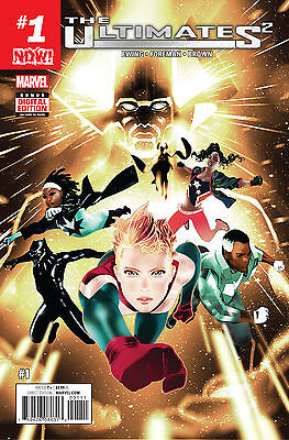 ULTIMATES 2 #1 NOW (MARVEL 2016 1st Print) COMIC
