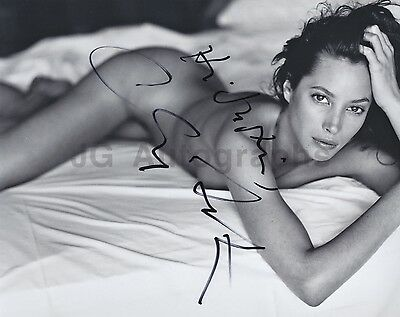 "Christy Turlington American Supermodel Autographed & Inscribed 8x10 ""To Justin"""
