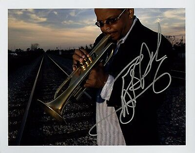 Terence Blanchard - Jazz Musician - Authentic Autographed 8x10 Photograph