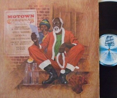 THE MOTOWN CHRISTMAS ALBUM - Various Artists~ VINYL LP