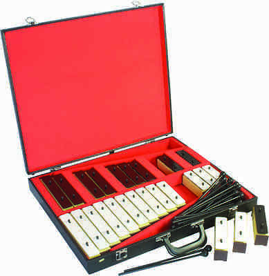 Percussion Workshop BLC25 25 Note Chime Bar Set with Beaters and Case