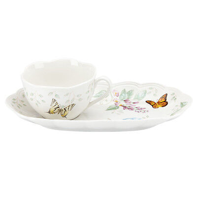 Lenox Butterfly Meadow Soup and Sandwich Serving Tray