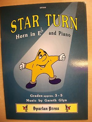 STAR TURN for Eflat Horn Grades 3-5 pub. Spartan Press SP366