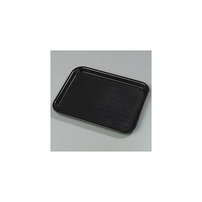 """Cafe® Standard Serving Tray 10"""" W x 14"""" D Chocolate Set of 24"""