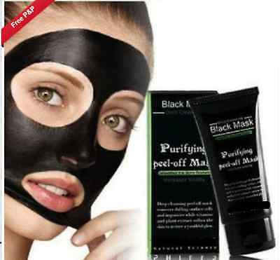Purifying Blackhead Remover 50ml Peel-Off Facial Cleansing Black Face Mask az
