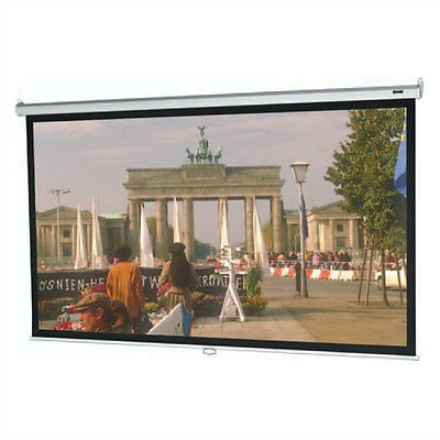 "Da-Lite Model B Matte White Manual Projection Screen 70"" H x 70"" W"