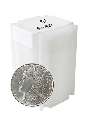 Pre 1921 Silver Morgan Dollar BU Lot of 20 Mix Dates and Mints S$1 1878 - 1904