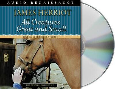 All Creatures Great and Small by James Herriot (English) Compact Disc Book Free