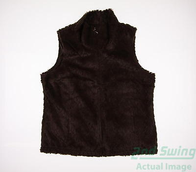 New Womens Sport Haley Golf Vest Small S Brown MSRP $80