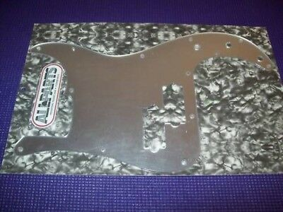 NEW - Pickguard For Fender P. Bass - ACRYLIC MIRROR