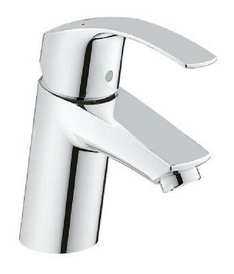 GROHE 3246720L Eurosmart Mono Basin Mixer Tap Single Lever Smooth Body HP LP
