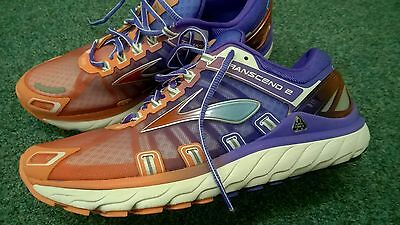 New Brooks Transcend 2 size UK 8.5 running shoes trainers top quality 42.5 EU