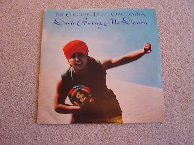 """ELO: Don't Bring Me Down 12"""": 1979 Release. Picture Sleeve"""