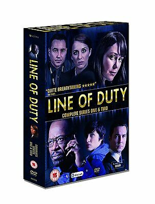 Line Of Duty Complete Series 1 & 2 New 4 Dvd Set