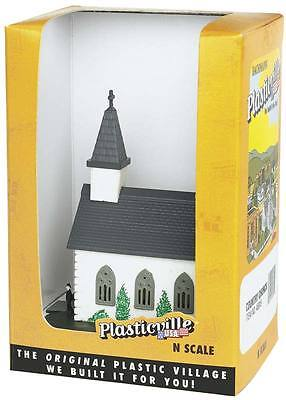 NEW Bachmann Country Church Built-Up N 45815