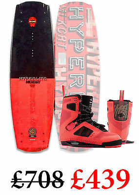 NEW 2016 Hyperlite Milkcart Wakeboard Package Inc Team Ct Bindings SAVE ££££