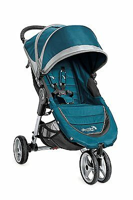 Baby Jogger 2016 City Mini Single Stroller - Teal/Gray - New! Free Shipping!