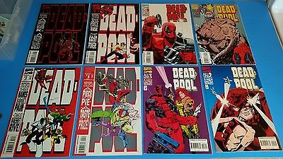 Deadpool The Circle Chase #1-4 ++ X-Men Limited Series 1-4 DEADPOOL LOT FREE S&H
